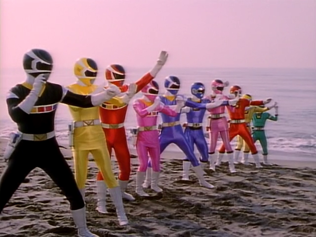Hey! You got your unremarkable civilians in my Megaranger!